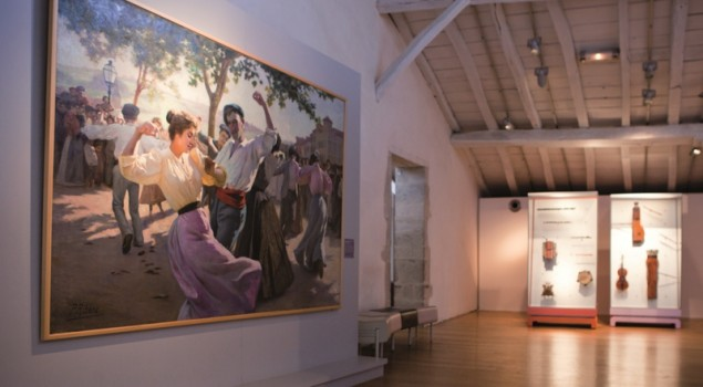 Tableau Fandango Musée Basque