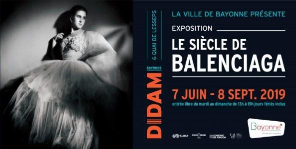 exposition Balenciaga Didam Bayonne